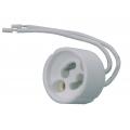 GU10 Cord Grip Lampholder White