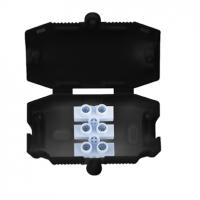 Choc Box, 3 Pole Connector Junction Box Black