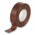 33m Trade Electrical Tape, Brown