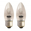 2 Pack 28w Xenon Candle - ES