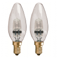 2 Pack 28w Xenon Candle - SES