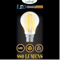 8w LED Filament GLS - BC