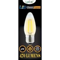 4w LED Filament Candle - ES