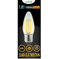 2w (240 lumens) LED Filament Candle - ES