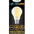 8w Dimmable LED Filament GLS - BC