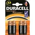 4pk Duracell Batteries - AA