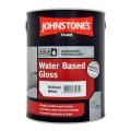 5L Johnstone's Water Based Gloss - White