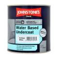 1L Johnstone's Water Based Undercoat - White
