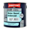 2.5L Johnstone's Water Based Undercoat - White