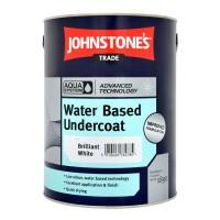 5L Johnstone's Water Based Undercoat - White
