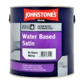 2.5L Johnstone's Water Based Satin - White