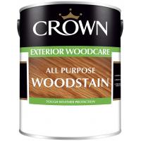5L Crown All Purpose Woodstain (Light Oak)