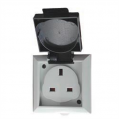 1 Gang 13a Outdoor Socket IP54