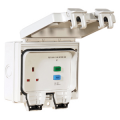 1 Gang 13a Switched Outdoor RCD Socket IP66