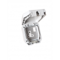 1 Gang 13a Outdoor Switched Socket IP66