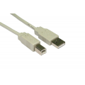 3m USB 2.0 Printer Cable A-B
