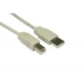 3m USB 2.0 Printer Cable A-B