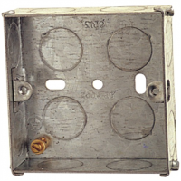 25mm 1 Gang Metal Box