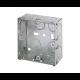 16mm 1 Gang Metal Box