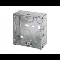 47mm 1 Gang Metal Box