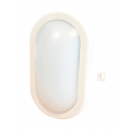 5w LED Bulkhead Oval IP65 White