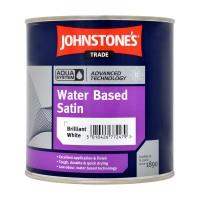 1L Johnstone's Water Based Satin - White
