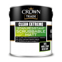 5L Crown Clean Extreme Scrubbable Matt (White)