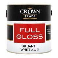2.5L Crown Trade Full Gloss (Brilliant White)