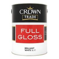 5L Crown Trade Full Gloss (Brilliant White)
