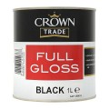 1L Crown Trade Full Gloss (Black)