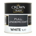 1L Crown Trade Full Undercoat (White)