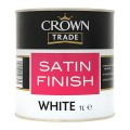 1L Crown Trade Satin (White)
