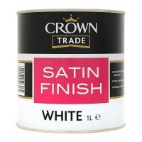 1L Crown Trade Satin (White)