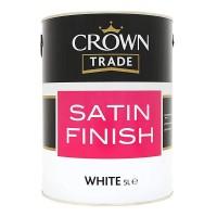 5L Crown Trade Satin (White)
