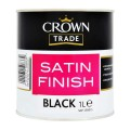 1L Crown Trade Satin (Black)