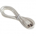 2m Coax Video Lead (Plug to Socket)