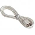 2m Coax Video Lead (Plug to Socket)