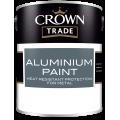 Crown Trade Heat Resistant Aluminium Paint (1L)