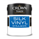 5L Crown Trade Silk Emulsion (Brilliant White)