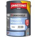 5L Johnstone's Stormshield Smooth Masonry (Alabaster)