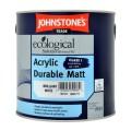 2.5L Johnstone's Acrylic Durable Matt (White)