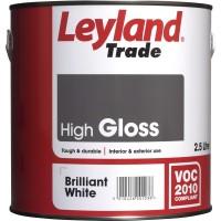 Leyland Trade High Gloss - Brilliant White (2.5L)