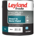 Leyland Direct to Metal Paint - Smooth Black (2.5L)