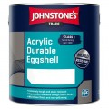 2.5L Johnstone's Acrylic Durable Eggshell (All Colours)