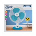 "12"" Desk Fan, Blue"