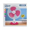 """12"""" Desk Fan, Pink"""