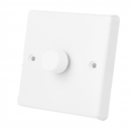1000w 2 Way Dimmer Switch White