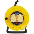 2 Socket 110v Extension Reel - 25m