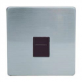 Telephone Socket, Screwless Stainless Steel