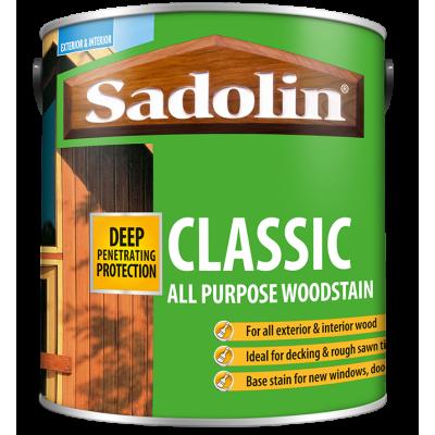 Buy 1L Sadolin Classic Mahogany - only £15.99!